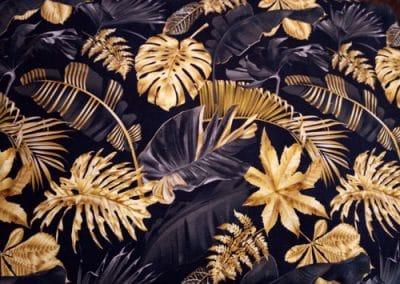 SA Fashion Kids_Jersey18. Blatt auf schwarz gold