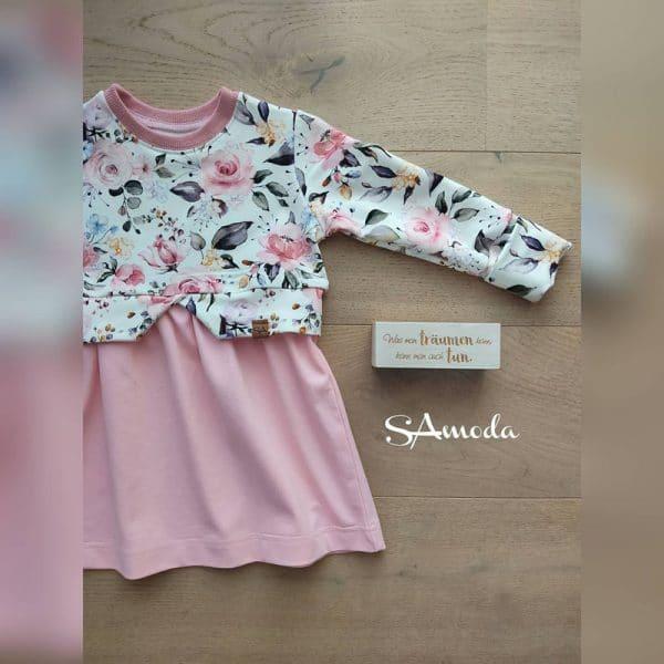 SA Fashion Kids_Jersey_Kleid-Jersey-Rosen
