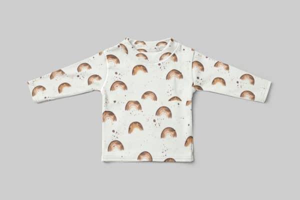 SA Fashion Kids_Jersey_Shirt-Regenbogen-grau