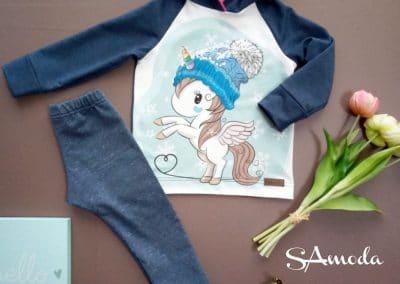 SA Fashion Kids_SET Einhornpulli & Leggings