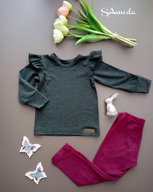 SA Fashion Kids_Shirt mit Rüschenärmel