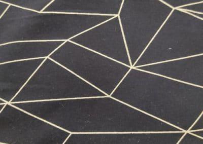 SA Fashion Kids_Sweat_9. Goldene Streifen auf Schwarz