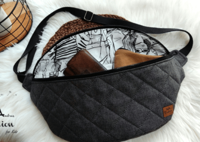 SA Fashion Kids Bodybag Stepper grau2