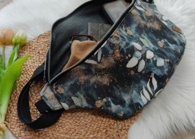 SA Fashion Kids Bodybag Kunstleder Blätter2